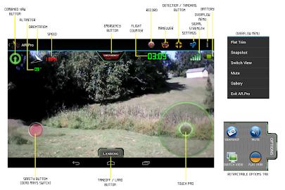AR.Pro 2 for AR.Drones Screenshot 1