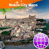 Toledo (Spain) Street Map