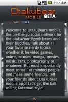 Screenshot of OtakuBears