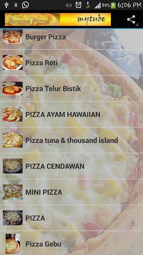Koleksi Resepi Pizza