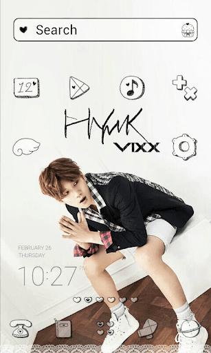 VIXX_BR_Hyuck dodol theme