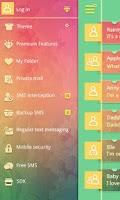 Screenshot of GO SMS PRO CARDS  THEME EX