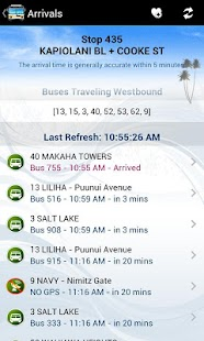 DaBus - The Oahu Bus App - screenshot thumbnail