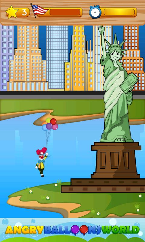 Angry Balloons World - screenshot