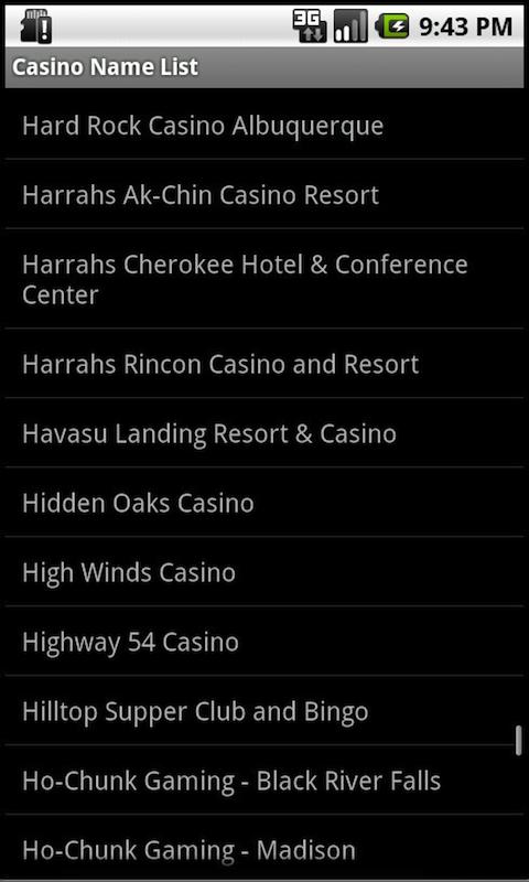 Tribal Casinos Indian Gaming screenshot #3