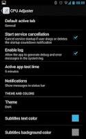Screenshot of CPU Adjuster
