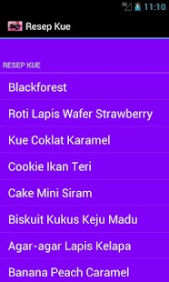 Resep Kue - screenshot thumbnail