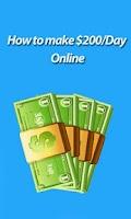 Screenshot of How to Make $200/day (Money)