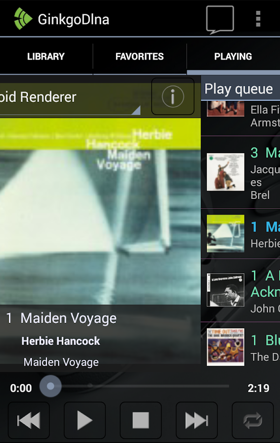 DLNA Player- screenshot