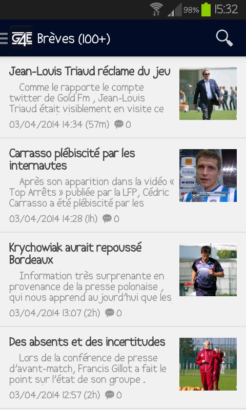 Girondins4ever- screenshot