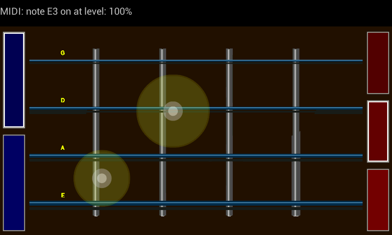 Resonator - MIDI Guitar- screenshot