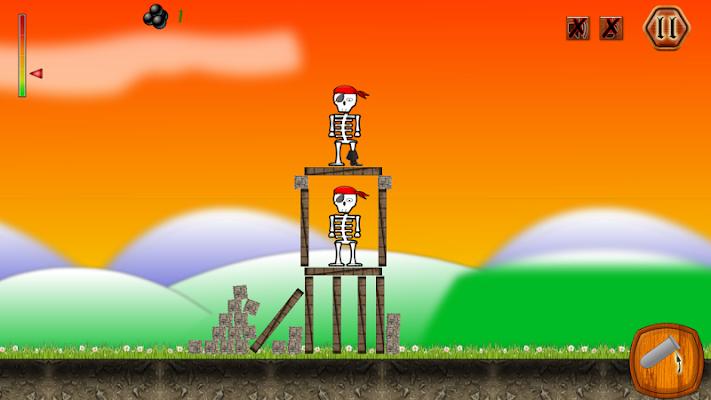 Crush The Skeleton Defense - screenshot