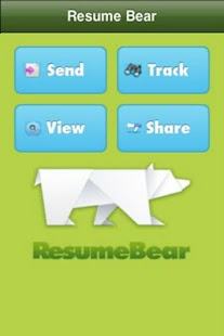 Resumebear - screenshot thumbnail