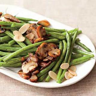 Green Beans n Shrooms