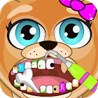 Celebrity Dentist Pets Animal Doctor Fun Pet Game icon