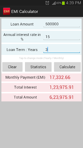 EMI Calculator SBI HDFC ICICI