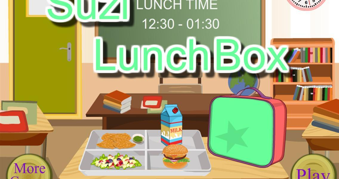 School Lunch - Food Maker- screenshot