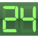 Digital Clock Green Pro icon