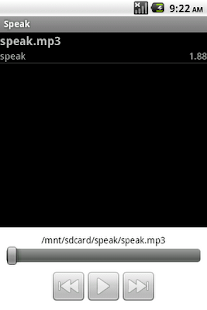 Speak- screenshot thumbnail
