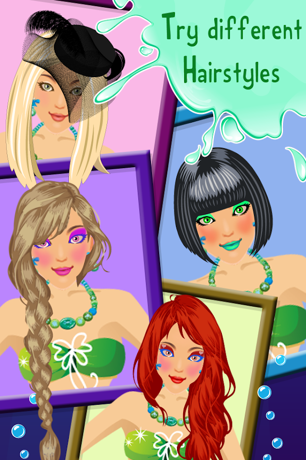 Mermaid Wedding Salon - screenshot
