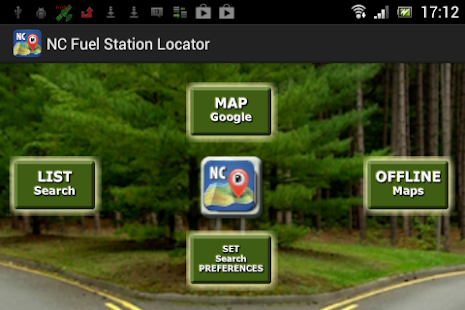 NC Fuel Station Locator- screenshot thumbnail
