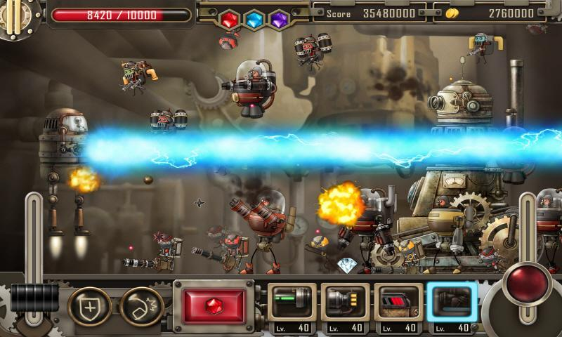 Zolaman Robot Gunz HD - screenshot