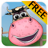 Food & Cows. Brain Game! Free!