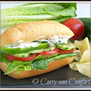 Salad Sub Sandwich.