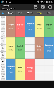 Handy Timetable- screenshot thumbnail