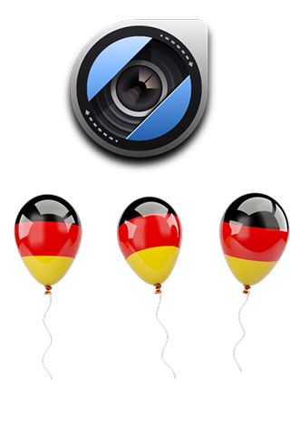 German Flags Camera