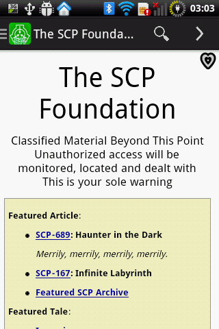The SCP Foundation DB donate