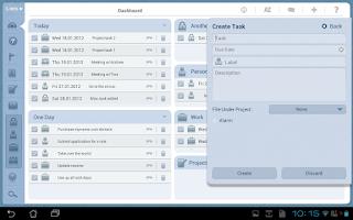 Screenshot of Platinum Tasks (To Do List)