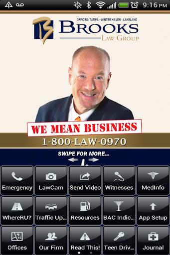 Brooks Law Accident App
