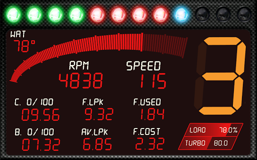 RacingMeter for Torque Pro