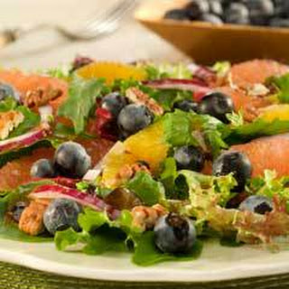 Citrus Salad With Blueberries.