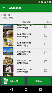 WCleaner for WA- screenshot thumbnail