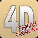 East Malaysia 4D icon