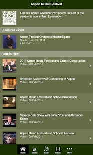 Aspen Music Festival - screenshot thumbnail