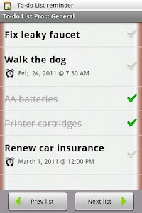 To-do List Pro screenshot 0