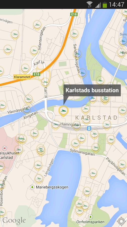 Värmlandstrafik- screenshot