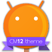 CM12 Orange Pop Theme