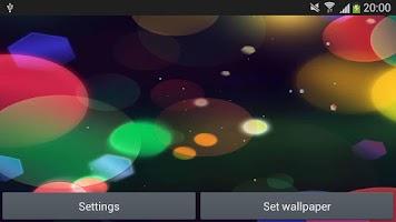 Screenshot of Cute and circle live wallpaper