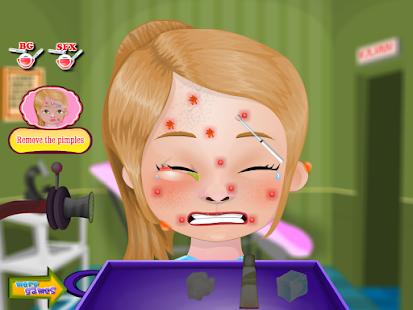 Pimple Trouble Girls Games - screenshot thumbnail