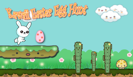 Kawaii Easter Egg Hunt Bunny