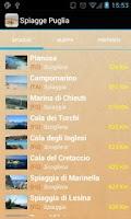Screenshot of Spiagge Italia Puglia Free