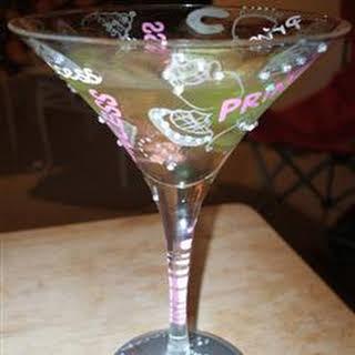 Carmel Apple Martini.