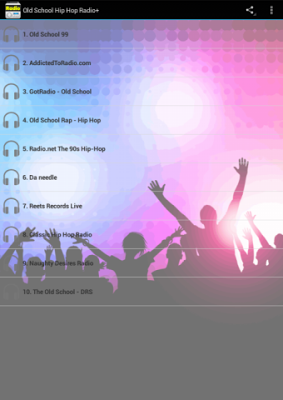 Old School Hip Hop Radio - screenshot