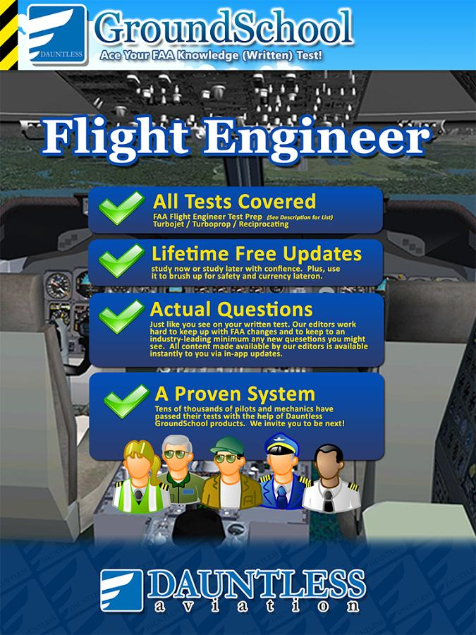 FAA Flight Engineer Test Prep- screenshot