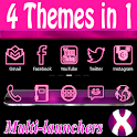 Pink Neon Complete 4 Themes