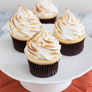Coconut-Cream Meringue Cupcakes.